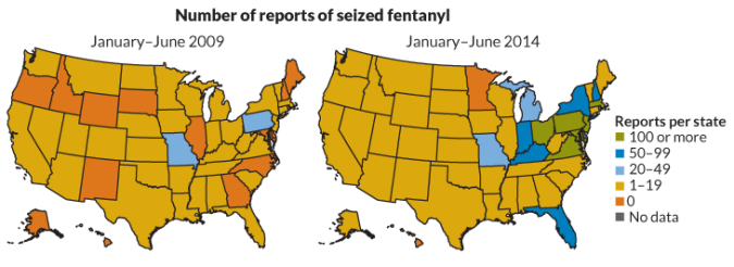 Fentanyl Deaths Map