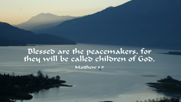 Blessed Peacemakers Matthew 5.jpg