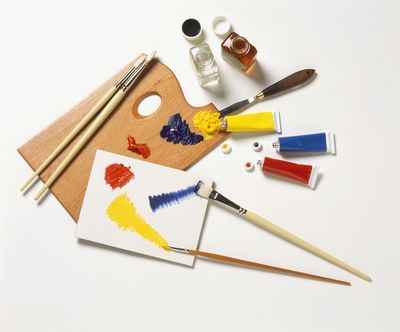 Brushes and Pallet