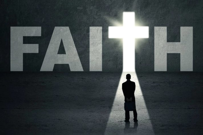 Faith Black and White Image