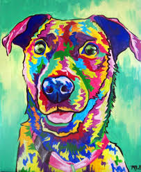 Matisse Dog Paintint