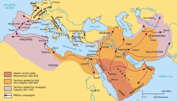 Islam and Byzantine Empire Clashes