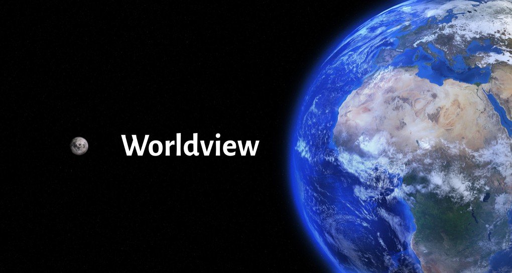 Worldview with Earth
