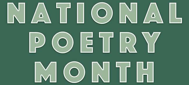 National Poetry Month 2020