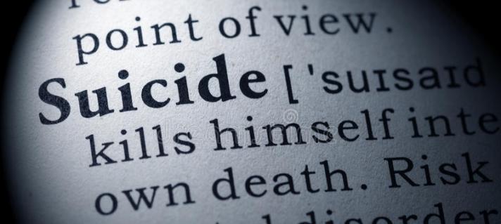 Suicide Definition Graphic